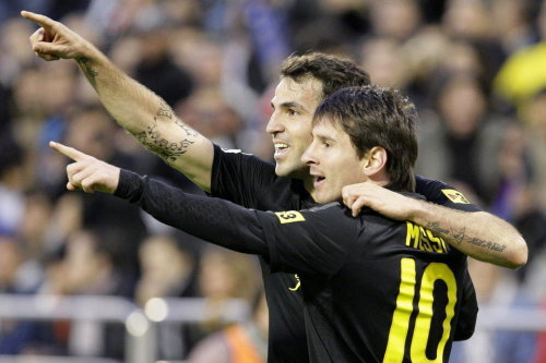 Messi and Cescy
