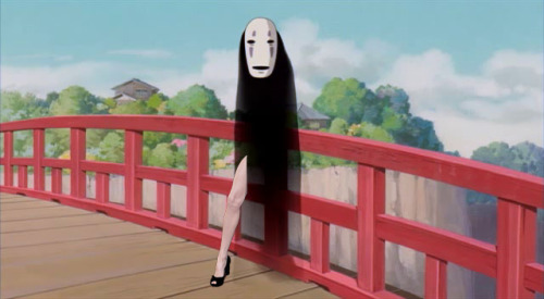 i was in the middle of watching spirited away and then i had to pause it to make this. posting this here will probs ruin the integrity of my art blog, but oh well