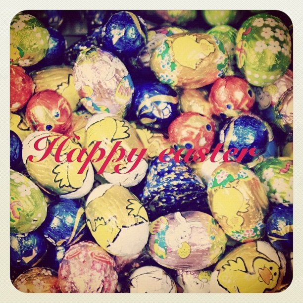 Happy easter everyone  (Taken with instagram)