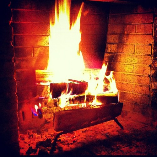 That's one manly-ass fire @tcohennyc  (Taken with instagram)