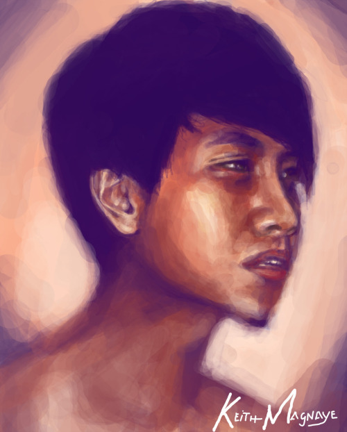 Bernard Digital Painting (1hr) Speed painting for my friend.