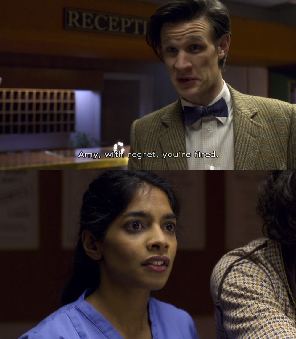 doctorwho-quicksummaries:  The best moment ever? Yes. Yes.