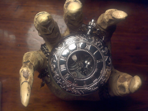 Hypnos- Steampunk pocket watch necklace by TheThingOnUrDoorstep
