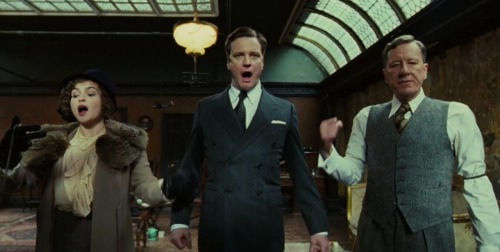 What I watched… The King's Speech (2010) 8.8/10 …fuckity, shit, shit, fuck and willy. Willy, shit and fuck and… tits.