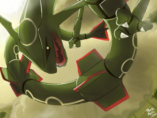 Rayquaza by ~mark331