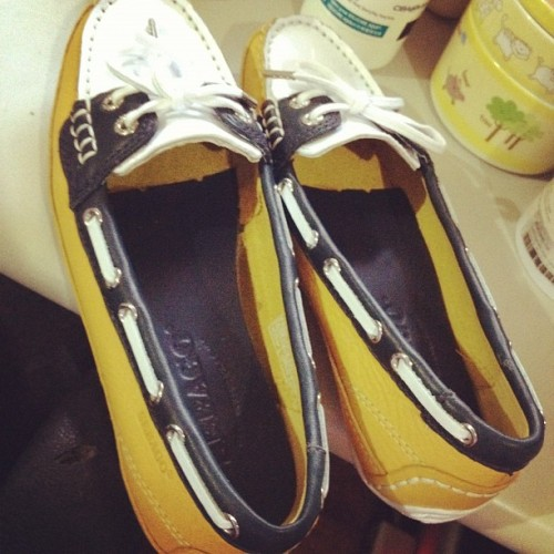 My new Sebago shoes! ❤❤❤ (Taken with instagram)