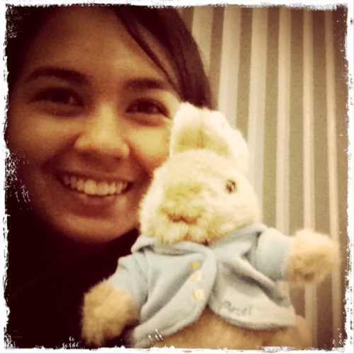 Happy Easter from me and Peter the bunny! :D I haven't been here-here on Tumblr for a while now. Been pretty busy and the backlog's just horrible! @_@ I'm quite active over at my real blog (whut), though, so feel free to follow me there. :D If you're about my age, don't you think it would be a great idea to have a grown-up egg hunting of sorts? Ugh, I miss my childhood. LOL. Hope you're all having a great Easter Sunday!