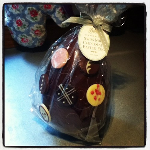 Best Easter Egg Ever. Love Betty's! (Taken with instagram)