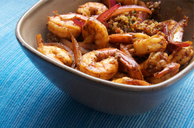 Zesty Shrimp and Quinoa