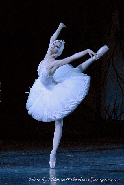 """Swan Lake"" Lopatkina 6 by Chigusa-jp 高嶋ちぐさ on Flickr."