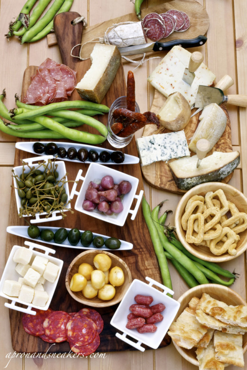 mouthsex:  Typical Italian Antipasto