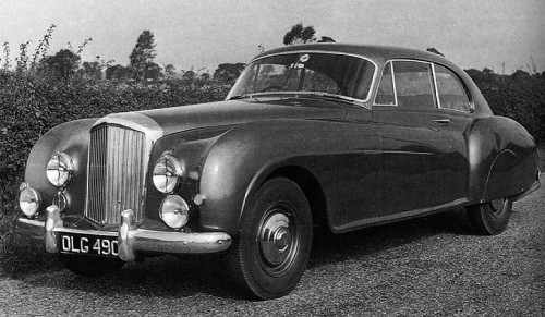 The Bentley Continental R (1950).