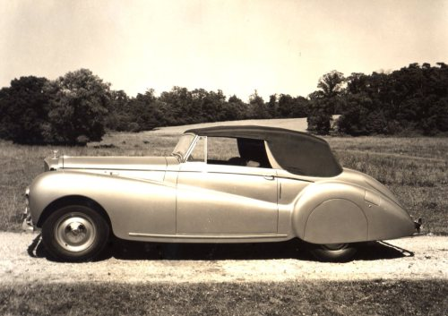 Bentley Mark IV Coupe (1951) Built by the coachbuilding company of Abbott Farnham.