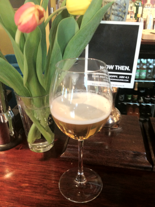 "A perfect start to Easter Sunday. Come and try Abbeydale Breweries ""Now Then"" ale - specially brewed by Now Then magazine"