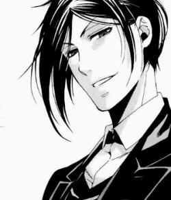 anime manga kuroshitsuji manga cap sebastian michaelis black butler sebastian hisbutleredits