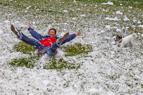 International Pillow Fight Day in GermanyDown feathers flew during a pillow fight that took place at the Brandenburg Gate in Berlin, Germany, on April 7, 2012. The event was organised through a Facebook page where participants were alerted of the feather-flying-fracas. Photo credit: Thomas Peter / Reuters