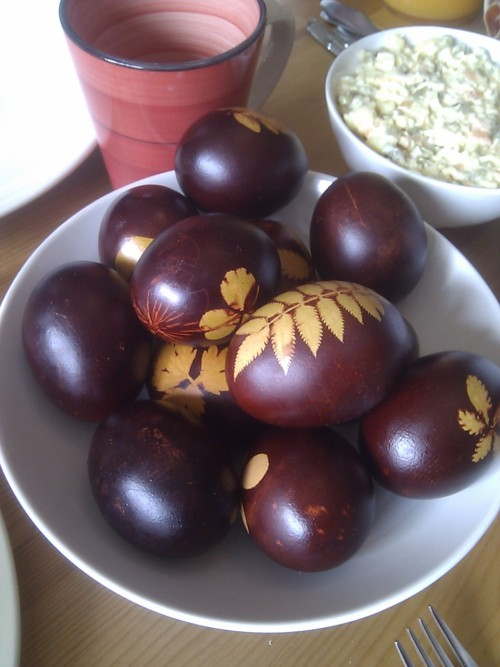 Romanian Easter eggs.