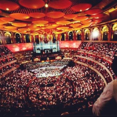 Playing on that very stage in October! #royalalberthall