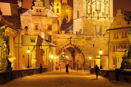 allthingseurope:  Prague-Karlův most (by paspog)