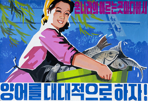 """Presidency under Kim Jong-Il increases fish production"""
