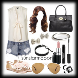 Everyday Style 15 by sunstarmooon featuring flat heels