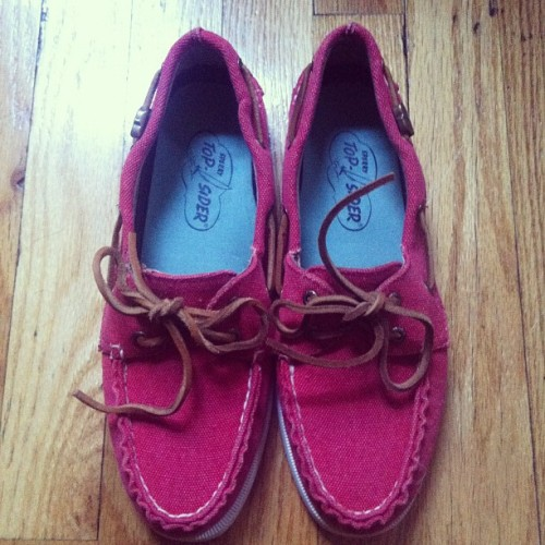 My new res Easter beauties #sperry #topsider  (Taken with instagram)