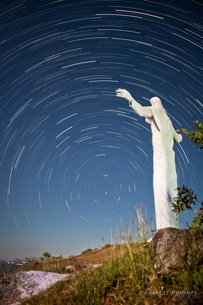 Easter Star Trails - at Monasterio de Tarlac, San Jose, Tarlac City