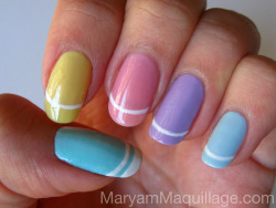 maryammaquillage:  Nail Painting for Easter!