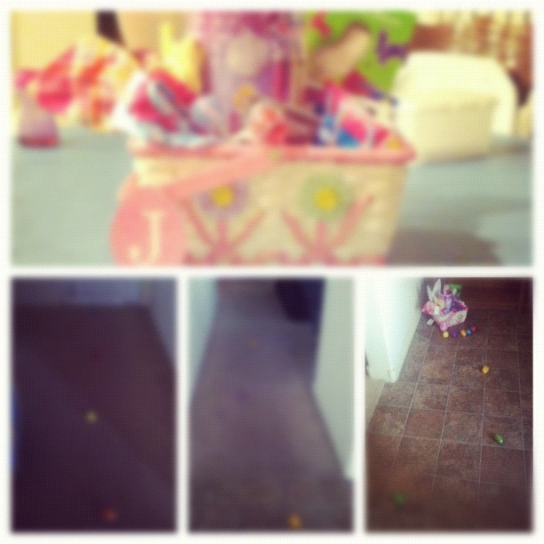 Journey to find the Easter basket! #picstitch #easter #eggs #basket #colors #kids #toddlers #fun (Taken with instagram)