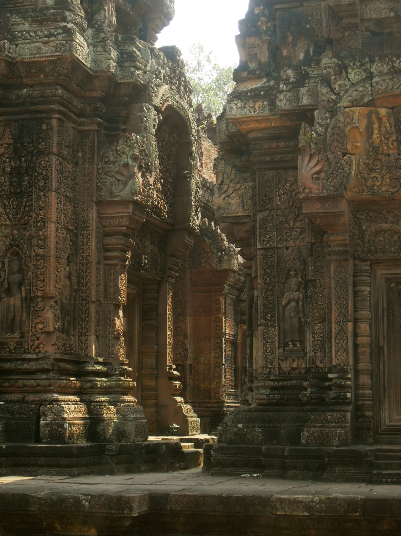 Some of the finest carving in Angkor was at Banteay Sri.