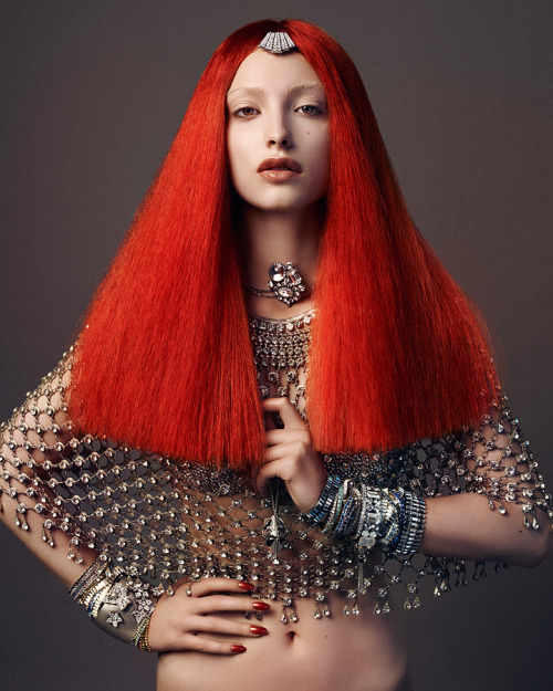 Ph. Lado Alexi for Vogue Germany Horoscope 2012