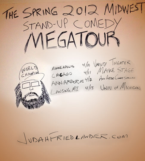 OFFICIAL Midwest Stand-up Tour Poster Revealed.  This is the most expansive Midwest Tour in Comedy History.