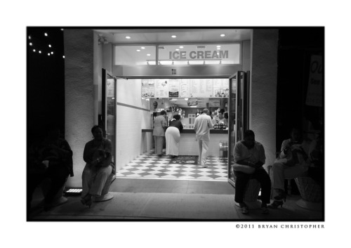Ice Cream ~ Bryan Christopher Asbury Park, NJ ©2011 Bryan Christopher