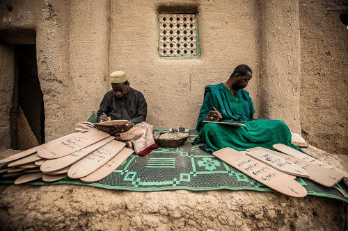 kilele:  Koranic school in Djenne, Mali Photo by Anthony Pappone