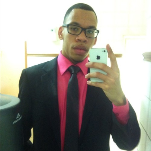 Happy Easter #church #easter #ressurection #pink #oakley #stacyadams #suit #fashion #sunday  (Taken with instagram)