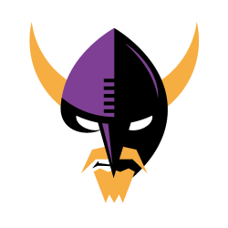 Minnesota Vikings - Alternate Version NOTE: I may post alternate or second versions of logos from time to time, before getting through every team. In some cases, I've been attempting to revise previous redesigns, and if they are different enough from the original, I'll just make them their own post.
