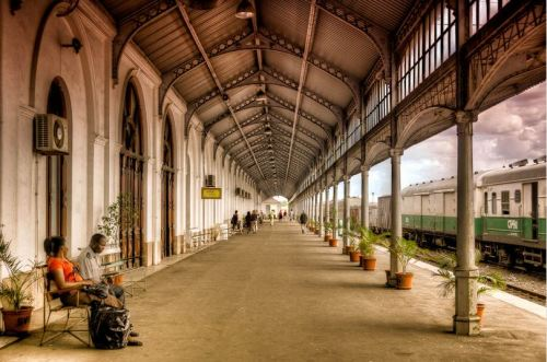 Maputo Railway Station, Mozambique.