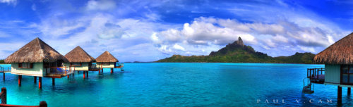 wander-the-galaxies:  Bora Bora by *Lenzo7099 Follow for lots of beautiful beachs, nature, travel, and scenery!