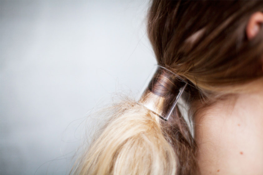 Clear Hair Cuff (image: afterdrk)