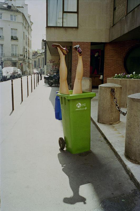 nevver:  Trash, pick it up.