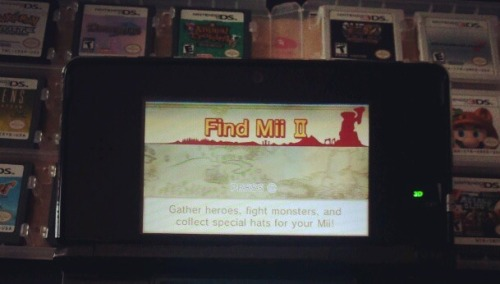 "Find Mii II- Find Mii is one of those games that a lot of people look at, play for a few minutes, then turn off and forget about it. My brother, for instance, hasn't opened Find Mii once since getting his 3DS. I was the same way until I started getting multiple StreetPass hits a day while on campus, and I figured I would give it a shot. Hell, it's long enough between good 3DS releases, I might as well find some way to entertain myself with the damn thing.The premise is simple, use the Mii of people you tag on StreetPass to traverse a very simple dungeon and save your own Mii from  a big baddie. You can spend coins that you get from walking on ""wandering adventurers"" to help out when you're not hitting out and about enough to get tags. Each time you tag someone they level up, so it leads to a fun game of trying to go the same spots in your daily routine to get the same people. So, I played through it, a few minutes a day, and beat it. I got some useless hats for my Mii and moved on with my life. A few weeks later I picked it up again, and found that it's the exact same game. Same dungeon, same monsters, but some different hats. Hooray, Nintendo, you really outdid yourselves here. Apathy took over and I would go a couple of days in between clearing out my Spotpass gate, so I slowly whittled my way through the game. Finally, again, I beat it, but this time something different happened. The credits rolled and I unlocked Find Mii II. Suddenly I found myself immersed in what was an RPG that required actual tactics and thought. You can combine adventurers for multiple attacks, buy special potions, and rehire old adventurers that you've met. This makes a big difference, because high level adventurers can traverse several rooms before running off, unlike the low-level wandering adventurers that are the grunts of Find Mii. Divergent paths bring make it feel a little more like an adventure, and even the enemies are much more menacing and powerful.Nintendo really hid this gem deep in the system, and I'm sure many people are unaware of it. I've heard mention of Find Mii II before, but I always dismissed it as more of the same. It almost feels like it could have been a full eShop release, so the fact that Nintendo just decided to include it in the system for free is fantastic. The cost of everything rises in Find Mii II, giving me something to finally spend all those saved up coins on. The only reason I can find that the Big N decided not to charge for it is that to play it you have to have coins, which you can only accrue in increments of ten a day. This restricts how much you can play the game, and keeps you from playing marathon sessions. Not that I'm complaining that Find Mii II is free, I'm just unaccustomed to this kind of quality software coming from a company at no cost.So, in short, if you have a 3DS and haven't bothered with Find Mii, then give it a whirl. The biggest barrier to entry is the time it takes to complete Find Mii two times. After that, you're in for a goofy romp through the kid-friendly countryside."
