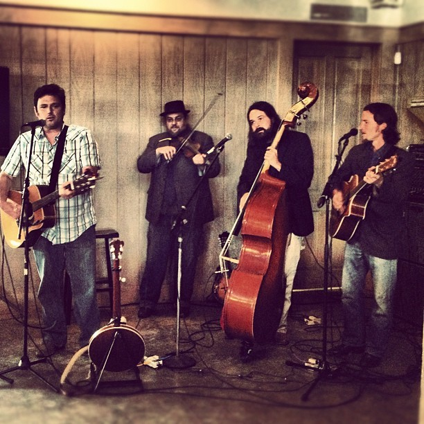 Easter brunch at Loveless Barn with entertainment from the Howling Brothers…awesome! (Taken with instagram)