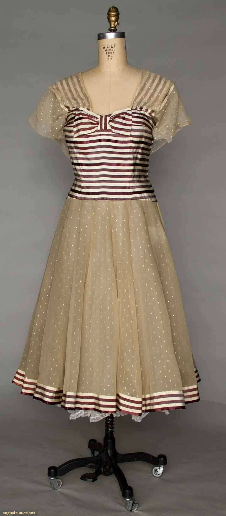 omgthatdress:  Party Dress Coco Chanel, 1959 Augusta Auctions