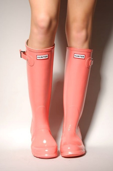 bella-illusione:  Hunter Coral Boots by Bevjwilson2005 on Flickr.