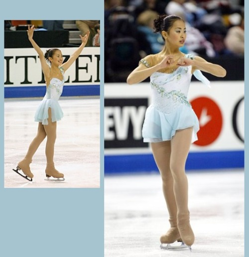 Yukina Ota skating to Daphnis et Chloé by Maurice Ravel at the 2004 Four Continents Championships. Sources: http://en.wikipedia.org/wiki/File:Yukina_Ota.jpg http://www.iceskatingintnl.com/images/four_continents/2004%204C/4C2004%20Ota%20FS.JPG