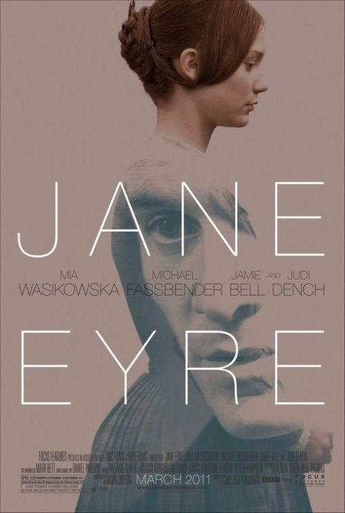 "106/365 ""Jane Eyre"" directed by Cary Fukunaga, starring Mia Wasikowska, Michael Fassbender, and Jamie Bell. From IMDb: After a bleak childhood, Jane Eyre goes out into the world to become a governess. As she lives happily in her new position at Thornfield Hall, she meets the dark, cold, and abrupt master of the house, Mr. Rochester. Jane and her employer grow close in friendship and she soon finds herself falling in love with him. Happiness seems to have found Jane at last, but could Mr. Rochester's terrible secret be about to destroy it forever? Oh man, what a great version. Wasikowska and Fassbender are just great at acting. It didn't hurt that they're both attractive, and Bell grew up quite well from ""Billy Elliot."" I thoroughly enjoyed it. It was also a visually beautiful film. I give it a 4 out of 5."