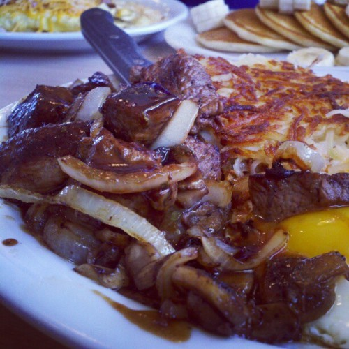 normally wouldnt post this. but im to hungry to care. (Taken with instagram)