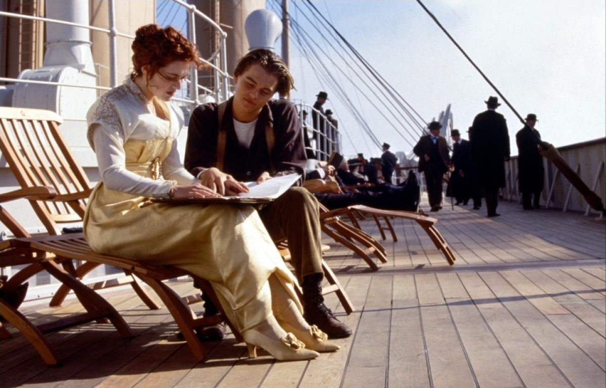 Titanic. I never watched this when I was a kid, but I finally saw it the other day with my wife…in 3D.  It was very cheesy in places, which was expected, but overall I thought it was very good. Much better than Avatar, in my opinion. What I didn't expect was the boat crash to be quite so disturbing. Parts of it were very unsettling. That's probably one reason I wasn't allowed to watch it when it came out. But I feel like a normal American now that I've finally experienced it. The fact that I hadn't seen it was my dirty secret for a while, but now I can hide no more.