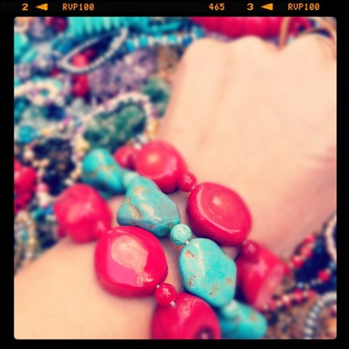 Crazy about bracelets #fashion #accesories  (Taken with instagram)