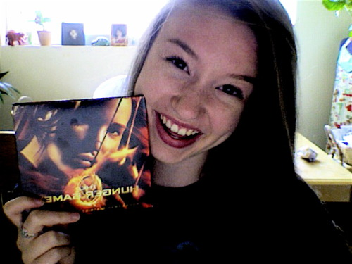 The Easter Bunny (my mama) got me The Hunger Games soundtrack! There were cards and a poster! I am so excited right now! I can't wait to put my poster up! I already have a space on my wall for it! Now all I need is a 1D poster and my walls will be complete! AAHH! Mann, I am a nerd. haha Now just waiting for the family to come over so we can E-A-T.